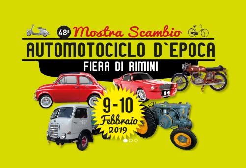 Mostra scambio Automotociclo d'epoca 2019