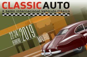 Classicauto Madrid 2019 Logo