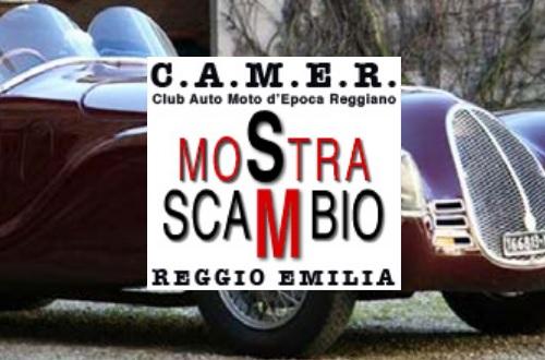 Mostra Scambio Reggio 2019 Logo
