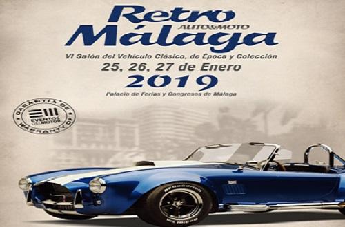 Retro Màlaga 2019 Logo