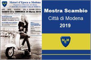 Mostra Scambio Città di Modena 2019 Logo