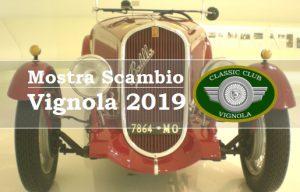 Mostra Scambio Vignola 2019 Logo