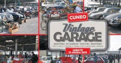 Mostra Scambio Vintage Garage Cuneo 2019 Logo