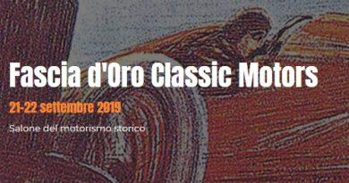 Fascia d'Oro Classic Motors 2019
