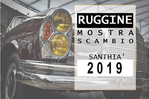 Ruggine Mostra Scambio Santhià 2019