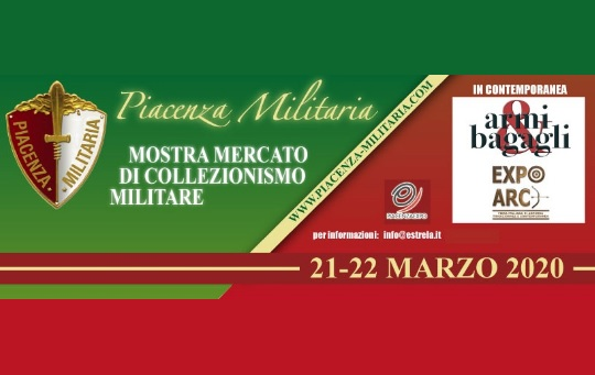 Mostra Scambio Piacenza Militaria 2020