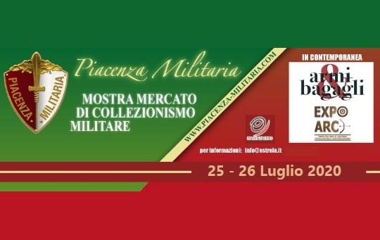 Mostra Scambio Piacenza Militaria luglio 2020