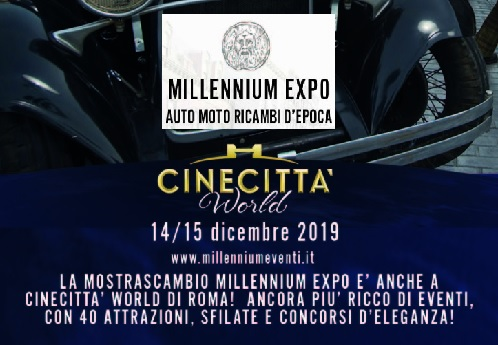 Millenium Expo Cinecittà World 2019