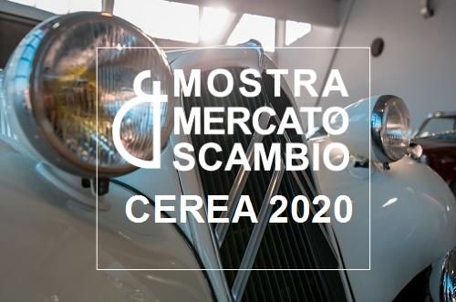 Mostra Mercato Scambio Cerea 2020