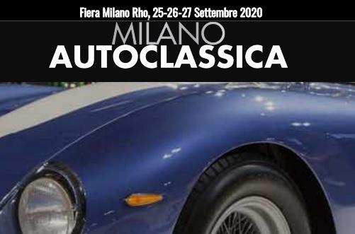 Milano Autoclassica Settembre 2020