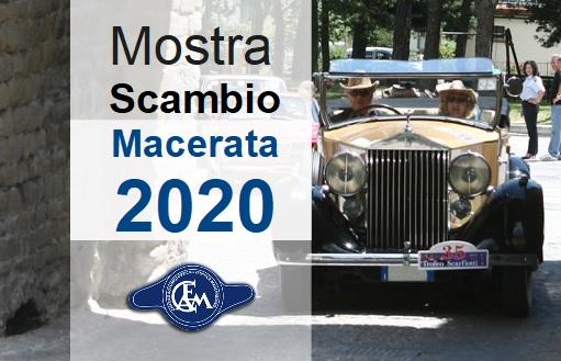 Mostra Scambio Macerata 2020