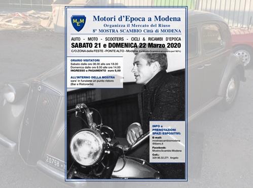 Mostra Scambio Modena 2020