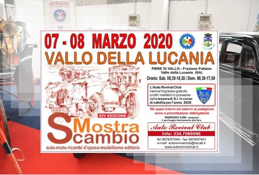 Mostra Scambio Vallo della Lucania 2020
