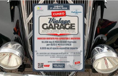 Mostra Scambio Vintage Garage 2020