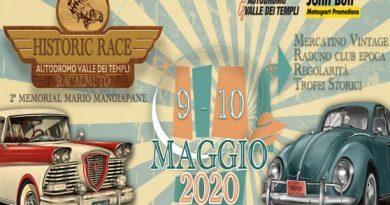 Mostra Scambio Historic Race 2020