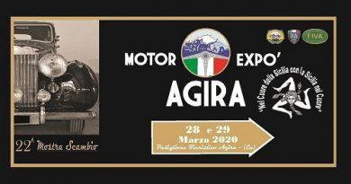 Mostra Scambio Motor Expo Agira 2020