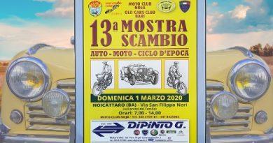 Mostra Scambio Noicattaro 2020