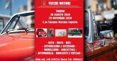 Mostra Scambio Vecchi Motori Agosto e Novembre 2020