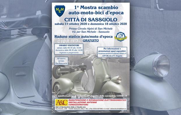Mostra Scambio Città di Sassuolo 2020