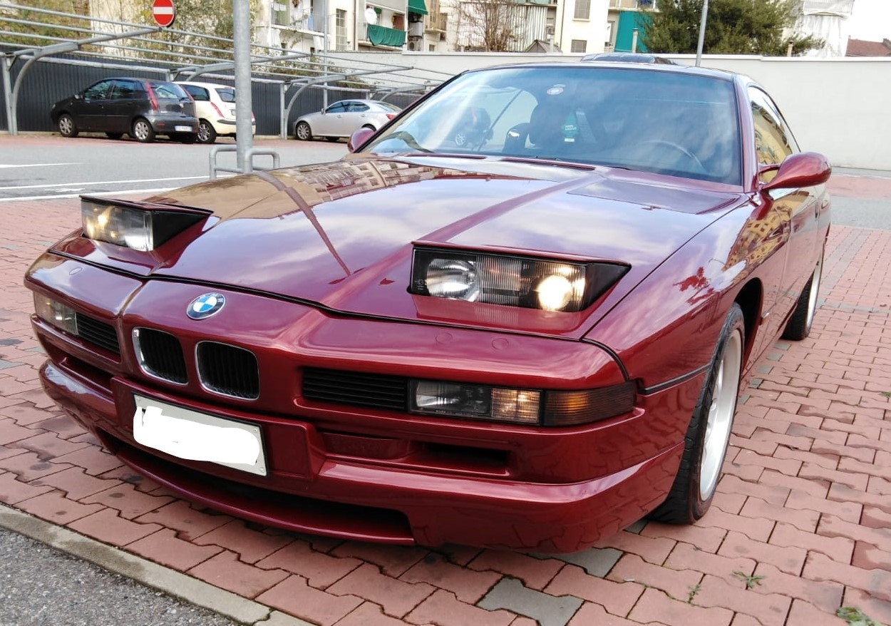 BMW 850 CSI Motorsport