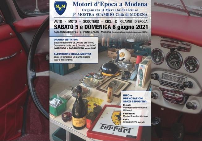 Mostra Scambio Modena 2021
