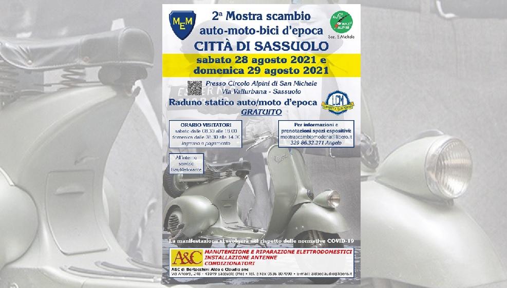 Mostra Scambio Città di Sassuolo 2021